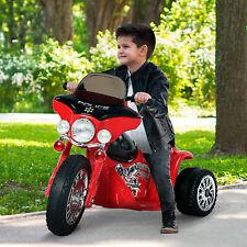 Moto Eléctrica Infantil Coche Triciclo Correpasillos a Batería Niños 18 meses+