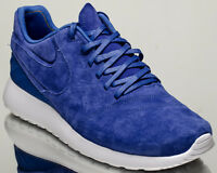 Nike Roshe Tiempo VI 6 Men's Comet Blue White Athletic Lifestyle Sneakers Shoes