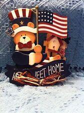"Nos 2003 Avon ""Home Sweet Home"" Bear Plaque"