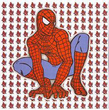 SPIDERMAN     - BLOTTER ART  SUPER HERO