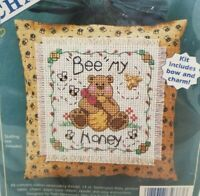 Dimensions Cherished Charms Honey Bee Bear counted cross stitch kit 72373