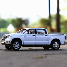 TOYOTA TUNDRA Diecast Car MODEL White 1:32 Car acousto-optic NEW gifts