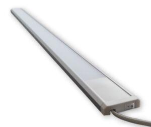 LED Lichtleiste Schrank Wandlampe Küchen Möbel Unterbau Leuchte 11W mit Stecker