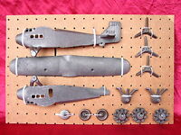 30's Dent Ford Tri-Motor Cast Iron Toy Airplane Arcade Hubley Kenton Vindex Ives