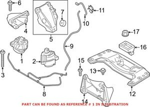 Genuine OEM Engine Mount for BMW 22116777371