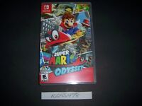 Replacement Case (NO GAME) Super Mario Odyssey Nintendo Switch Box Original