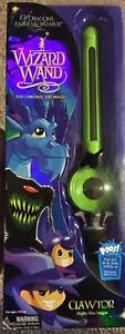 Mighty Wizard Wand Clawtor the Mighty Blue Dragon Green Wand BRAND NEW 2017