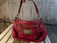 Coach purse Bag handbag tote casual shoulder mini red