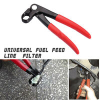 Universal Car Fuel Feed Pipe Plier Grips In Line Tubing Filter Service Tool 220m