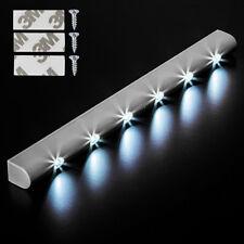 6 LED Lichtleiste Bewegungsmelder Schranklicht Unterbauleuchte Batterie Leiste