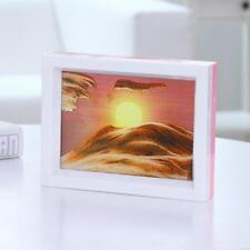 Desert Sunrise Moving Sand Picture Home Décor Office Table Art Gift to Friends