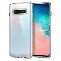 Dolphin© Samsung Galaxy S10 Case Ultra Slim Hülle Cover Transparent Silikon