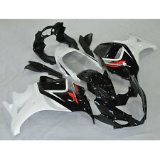 Black White ABS Fairing Bodywork Set For Suzuki GSX650F GSX 650F 2008-2013 08 13