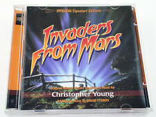 Christopher Young INVADERS FROM MARS David Storrs Complete Soundtrack 2 CD Set