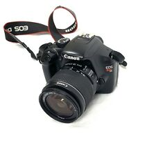 Canon Eos Rebel T3 Complete Camera body and lenses