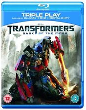 TRANSFORMERS 3: DARK OF THE MOON [TRIPLE PLAY] NEW REGION B BLU-RAY