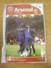 05/03/2005 Arsenal v Portsmouth  (Excellent Condition)