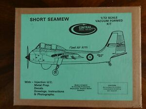 SEALED IN BOX CONTRAIL MODEL AIRCRAFT VACUUM FORMED KIT 1/72 SHORT SEAMEW