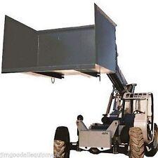 Forklift-Telehandler Trash Hopper for Easy Transportation of Trash, 6.5.CU Yards