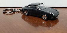Hot Wheels 1996 Porsche Carrera Keychain Black