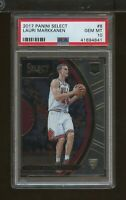 2017 Select LAURI MARKKANEN #8 Chicago Bulls Rookie PSA Gem Mint 10 (SC9)