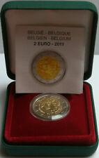 """2 euro BELGIO 2011 """"FONDO SPECCHIO """" """"PROOF""""  30° ann. Giornata della Donna"""