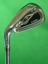 LH TaylorMade r7 CGB MAX 2008 Single 6 Iron REAX 55 Superfast Graphite Regular