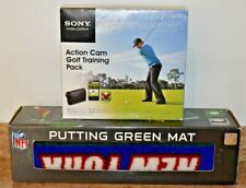Sony HDR-AS15 Camcorder Action Cam Golf Training Pack w/Putting Green Mat *NEW*