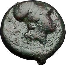 SYRACUSE in SICILY 304BC Agathokles Athena Horseman RARE R1 Greek Coin i55584