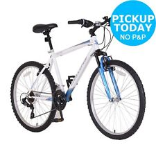 Challenge Spectre Front Suspension 26 Inch Bike - Mens - White/Blue. From Argos