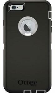 OtterBox Defender Case for iPhone 6 Plus/6S Plus (Case Only ) (Black/White)