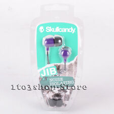 Skullcandy JIB DUB In-Ear EarBud Buds Stereo Earphone Headphones (Purple) NEW