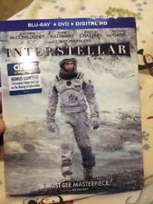 INTERSTELLAR - Blu-ray/DVD (No Souvenir Film Cell or Digital HD) BEST BUY BONUS