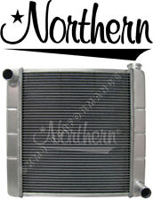 Northern 209632 Aluminum High Performance 2-Row GM Chevy Racing Radiator 19 x 20