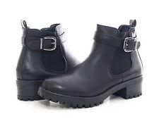1dd41021185167 Neu Damen Winter Stiefel Stiefelette Schwarz warm gefüttert Gr. 36-41   545