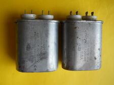 LOT OF 2 x 2uF @ 660V AEROVOX U.S.A.  PIO CAPACITORS
