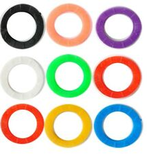 New Plastic Key Cap Top Cover Caps Tag Head Id Markers Yale Key Toppers Assorted