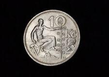 10 Kronen 1932 Tschechoslowakei Lindenschössling