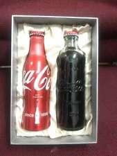 Rare china coca cola 125th Limited-edition aluminium bottle box empty