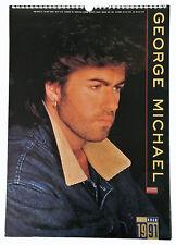 George Michael Foto Poster Bilder Kalender 1991 - ovp. Rarität