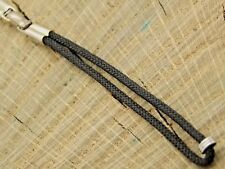 Vintage Hadley Unused Watch Band NOS Loop End Stainless & Cord Butterfly Clasp