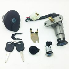 4wireScooter Ignition Switch Key Set 139QMB 50cc GY6 150cc Chinese Scooter Parts