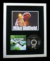 MIKE OLDFIELD+SIGNED+QUALITY FRAMED+TUBULAR BELLS=100% GENUINE+FAST GLOBAL SHIP
