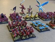 Warmaster Daemon Army OOP Painted Rare Chaos 10mm