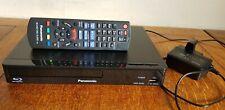 Panasonic Dmp-BD84EB-K Smart Blu-ray Player 1080p Upscaling with DVD Playback