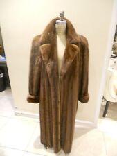 Pre-owned Natural American Lunarainemink full length coat size Medium