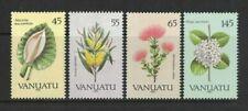 1990 Vanuatu Stamps Flowers SG 538/41 Set of 4 MUH