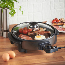 Multi Cooker Electric Frying Pan Large Portable Electric Slow Browns Braises