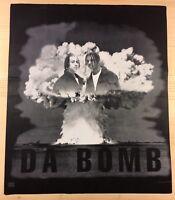 Kriss Kross DA BOMB 1993 Album FELT T-Shirt RAP PROMO SAMPLE 2-SIDED Vintage 90s