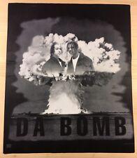 Kriss Kross DA BOMB 1993 Album FELT T-Shirt PROMO SAMPLE 2-SIDED SUPER RARE HTF
